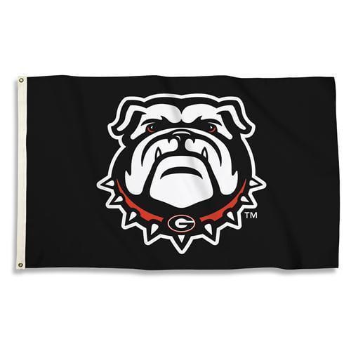 Georgia Bulldogs 3 Ft. X 5 Ft. Flag W/Grommets  - Collegiate Licensed #35307
