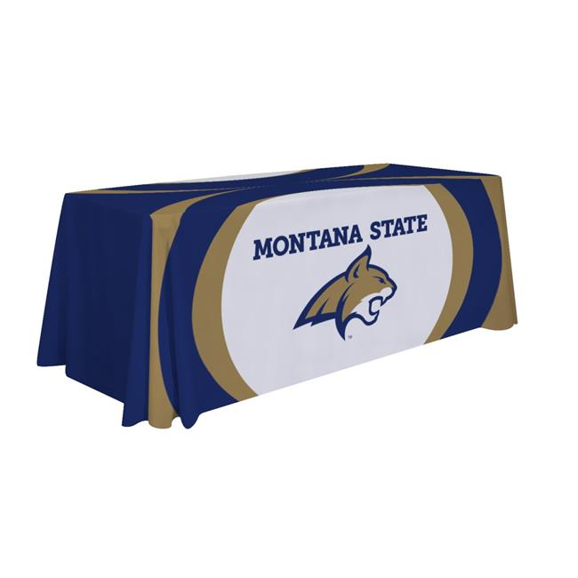 Victory Corps 810026MTST-003 6 ft. NCAA Table Throw Montana State - No.003