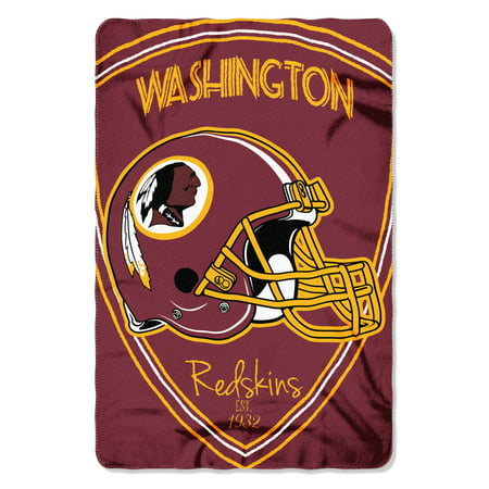 "NFL - Washington Redskins , ""Shield"" 40""x 60"" Fleece Throw (Washington Redskins Fleece Nfl Blanket)"