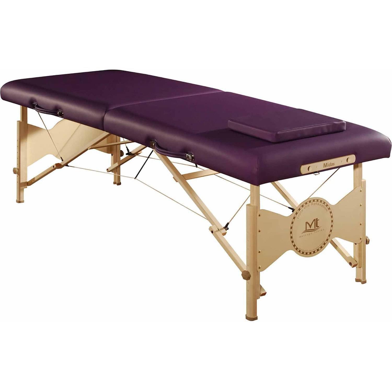 "MT Massage Midas-Entry 28"" Professional Portable Massage Table Package, Purple"