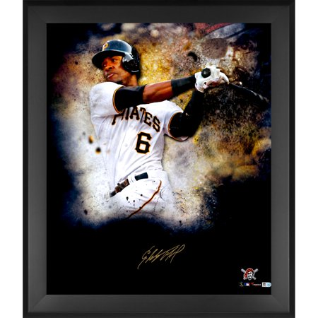 Starling Marte Pittsburgh Pirates Fanatics Authentic Framed Autographed 20