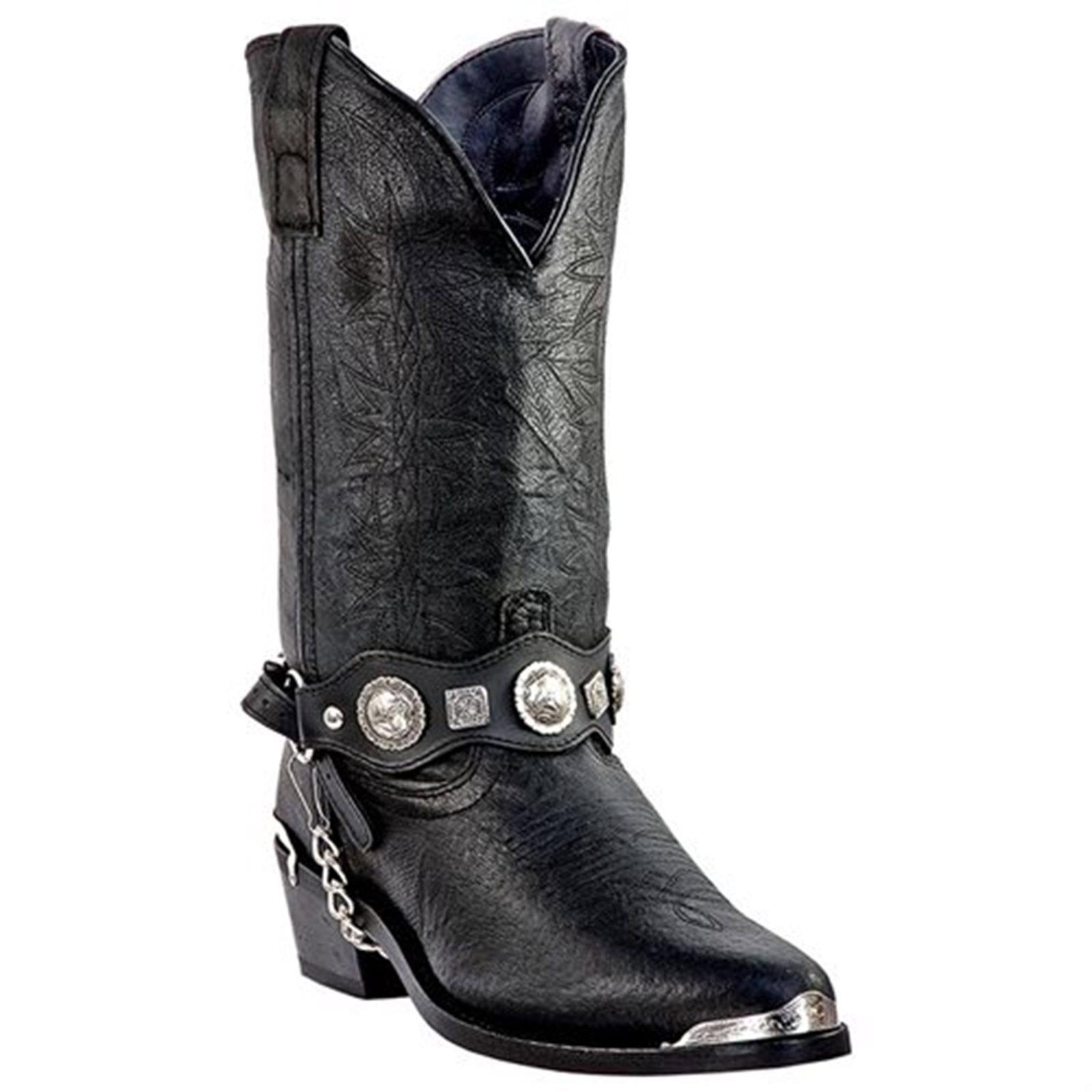Dingo DI02175 Men's Black Suiter Harnness Western Boots by Dingo