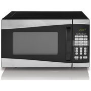 Hamilton Beach 0 9 Cu Ft 900w Microwave Stainless Steel