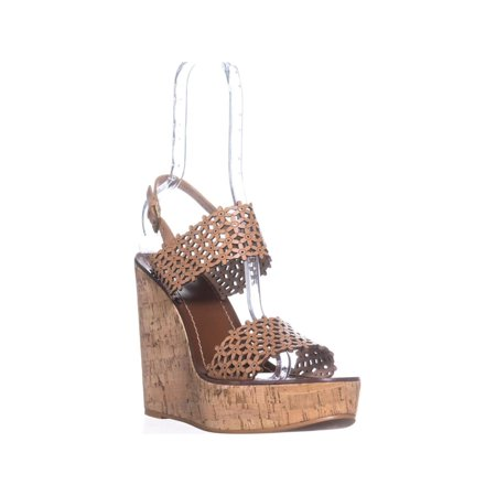 863cebbcf16f2 Tory Burch - Womens Tory Burch Floral Perf Wedge Sandals