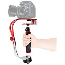 ASHANKS Pro Video Camera Handheld Stabilizer Steady cam for Gopro DV SLR Canon Nikon iPhone Digital Camera (Front Facing Camera Not Working Iphone 6)