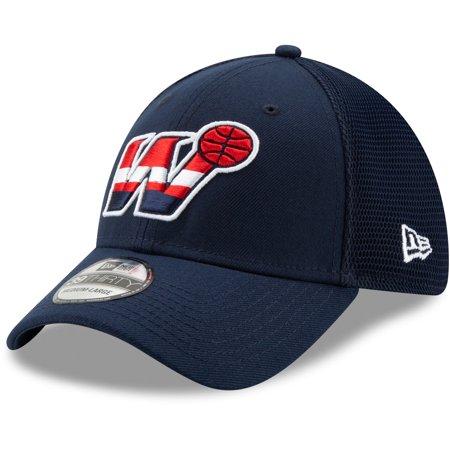 Washington Wizards New Era Back Half Series 39THIRTY Flex Hat - Navy ()