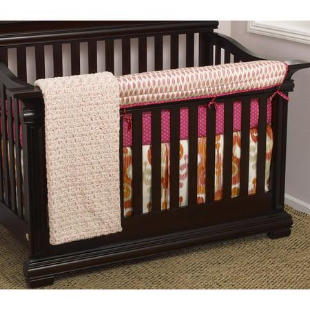Front Crib Rail Cover (Cotton Tale Designs Sundance Front Crib Rail Cover Up)
