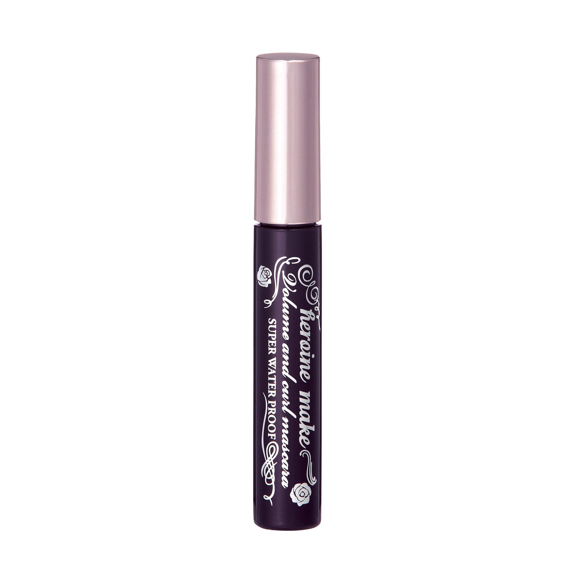 601f43f67cc Kiss Me Heroine Make Volume & Curl Mascara Super Waterproof, 01 Super Black  - Walmart.com