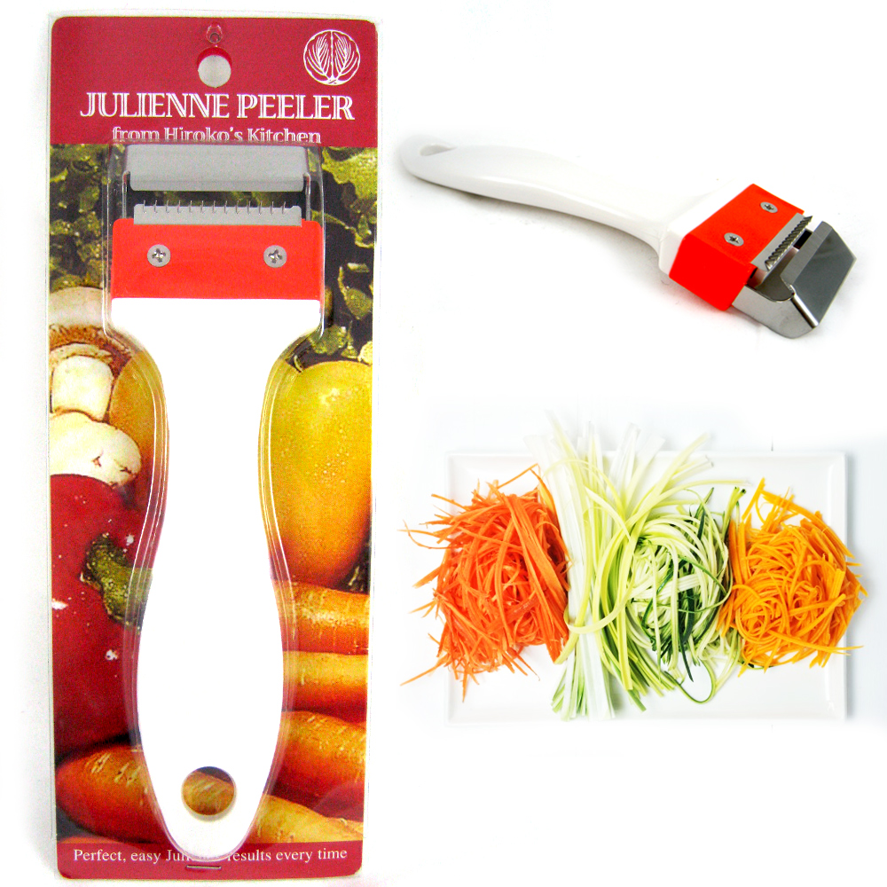 Kinpira Julienne Peeler Stainless Steel Vegetable Fruit Potato Cutter Slicer New