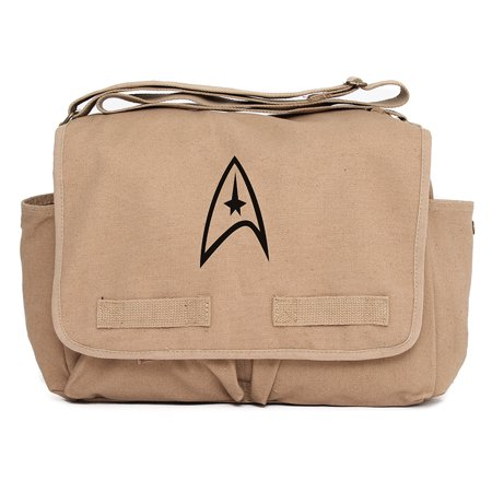 Star Trek Federation Army Heavyweight Canvas Messenger Shoulder Bag (Trek Messenger)