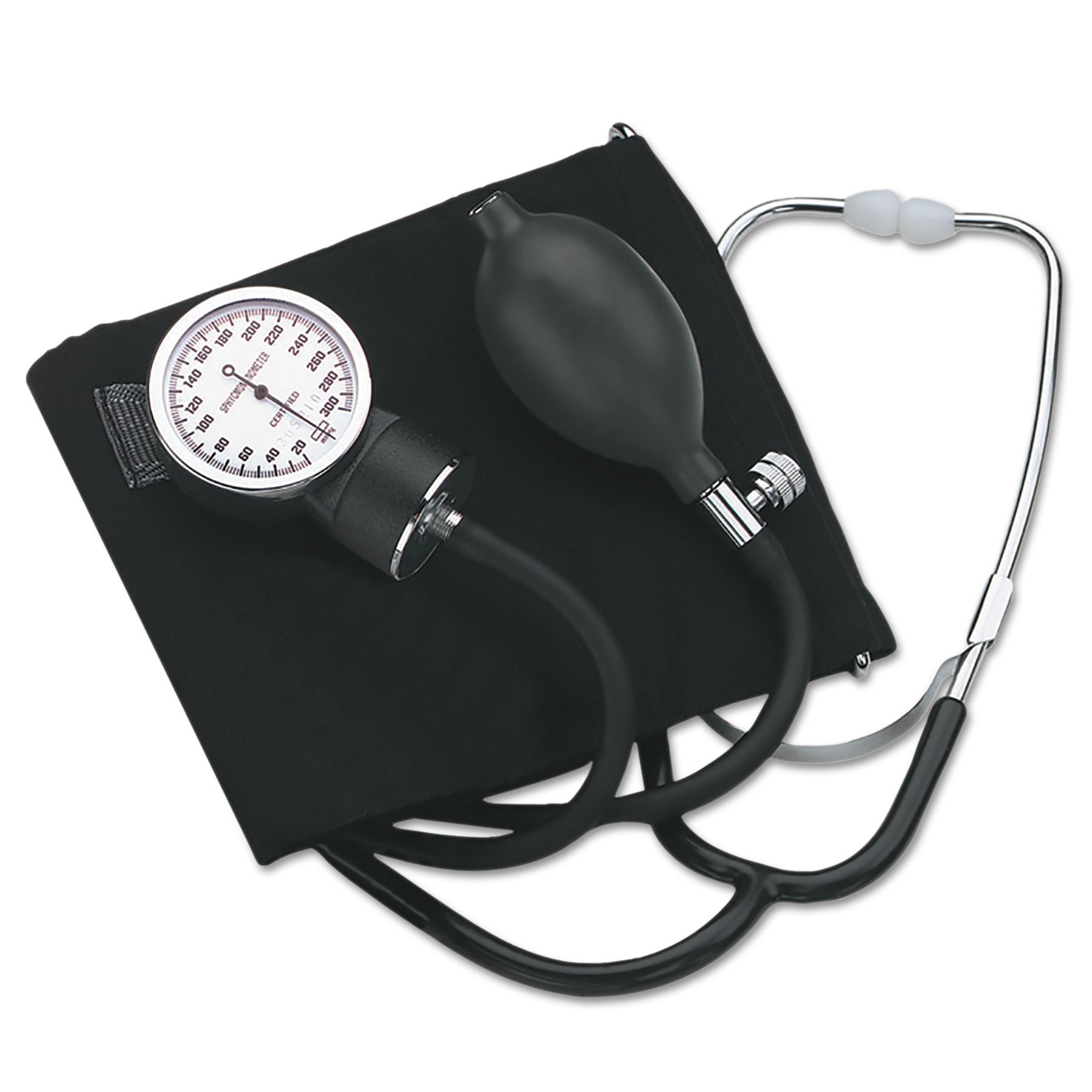 "HealthSmart Self-Taking Home Blood Pressure Kit, 22"" Stethoscope, Large Adult"