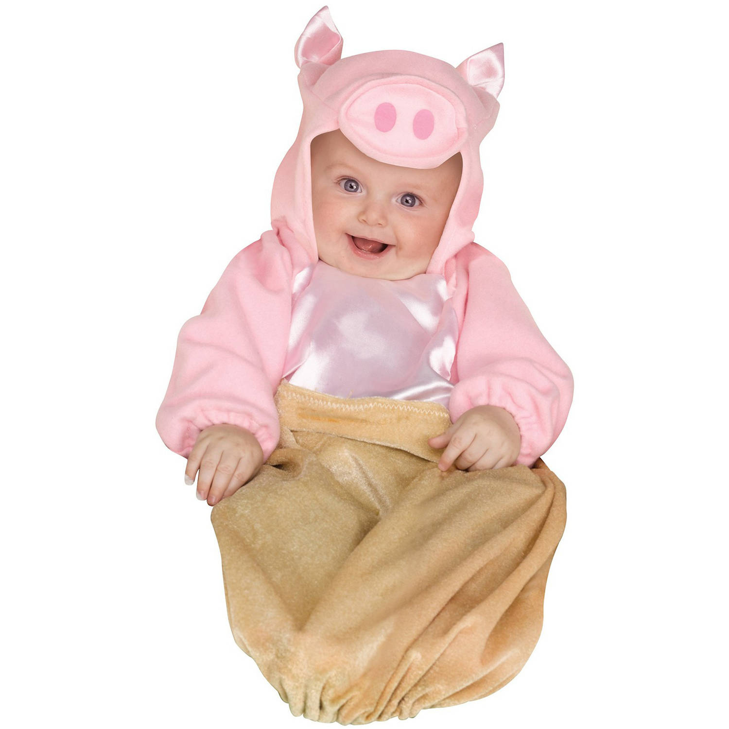 pig in a blanket infant halloween costume, size 0-6 months - walmart