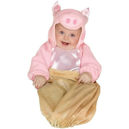 0-6 Month Infant Halloween Costumes (Pig in a Blanket Infant Halloween Costume, Size 0-6)