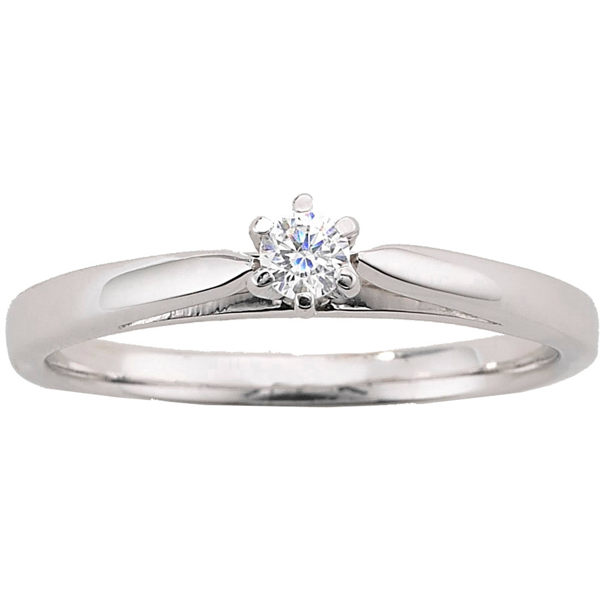 Engagement ring 1 carat diamond