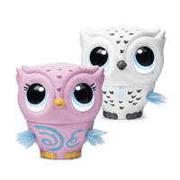 Owleez, Flying Baby Owl Interactive Toy with Lights and Sounds, for Kids Aged 6 and Up Buy One, Get One 50% Off