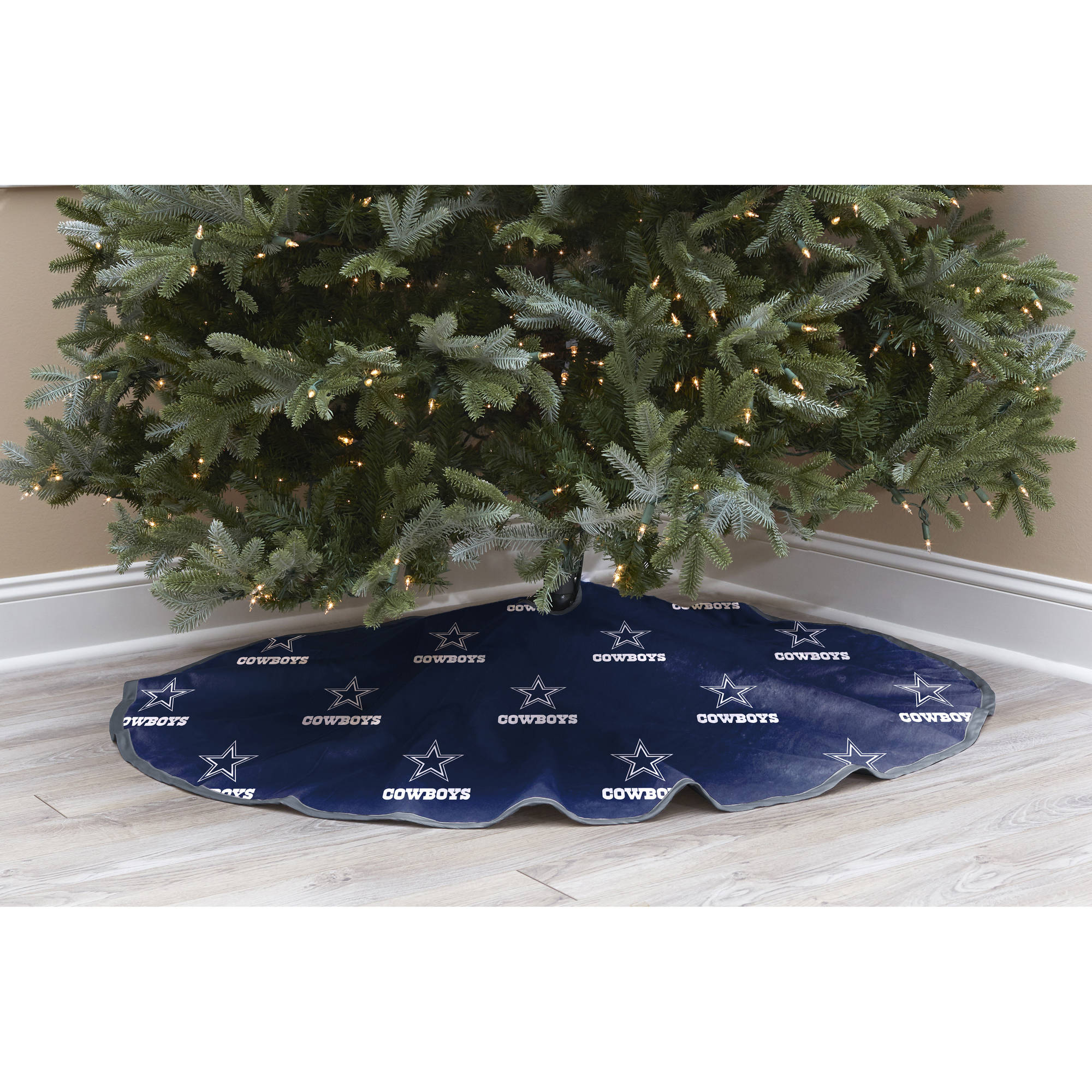 NFL Licensed Logo Christmas Tree Skirt, Dallas Cowboys