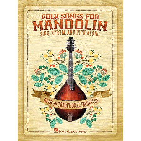 Wegen Mandolin Pick (Hal Leonard Folk Songs For Mandolin - Sing, Strum and Pick Along )
