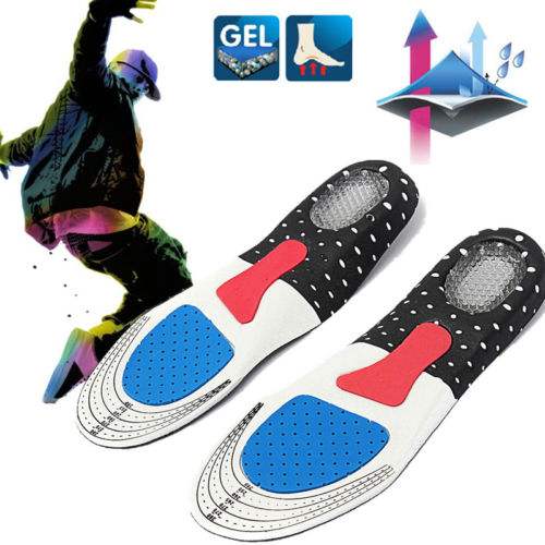 Orthotic Arch Support Shoe Pad Sport Running Gel Insoles Insert Cushion Unisex Today's Special Offer!