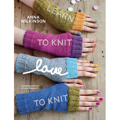 Potter Craft Books-learn To Knit, Love T