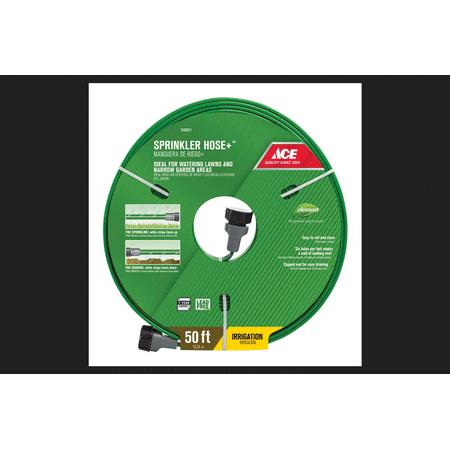 - Ace 50 ft. L Sprinkler Hose Kink Resistant