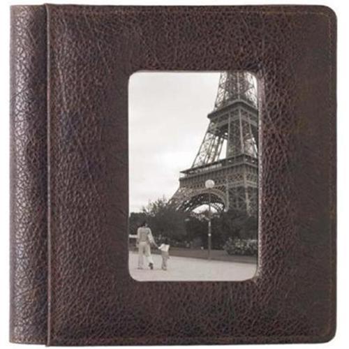 Raika RM 170 BROWN Frame Front Scrapbook Album - Brown