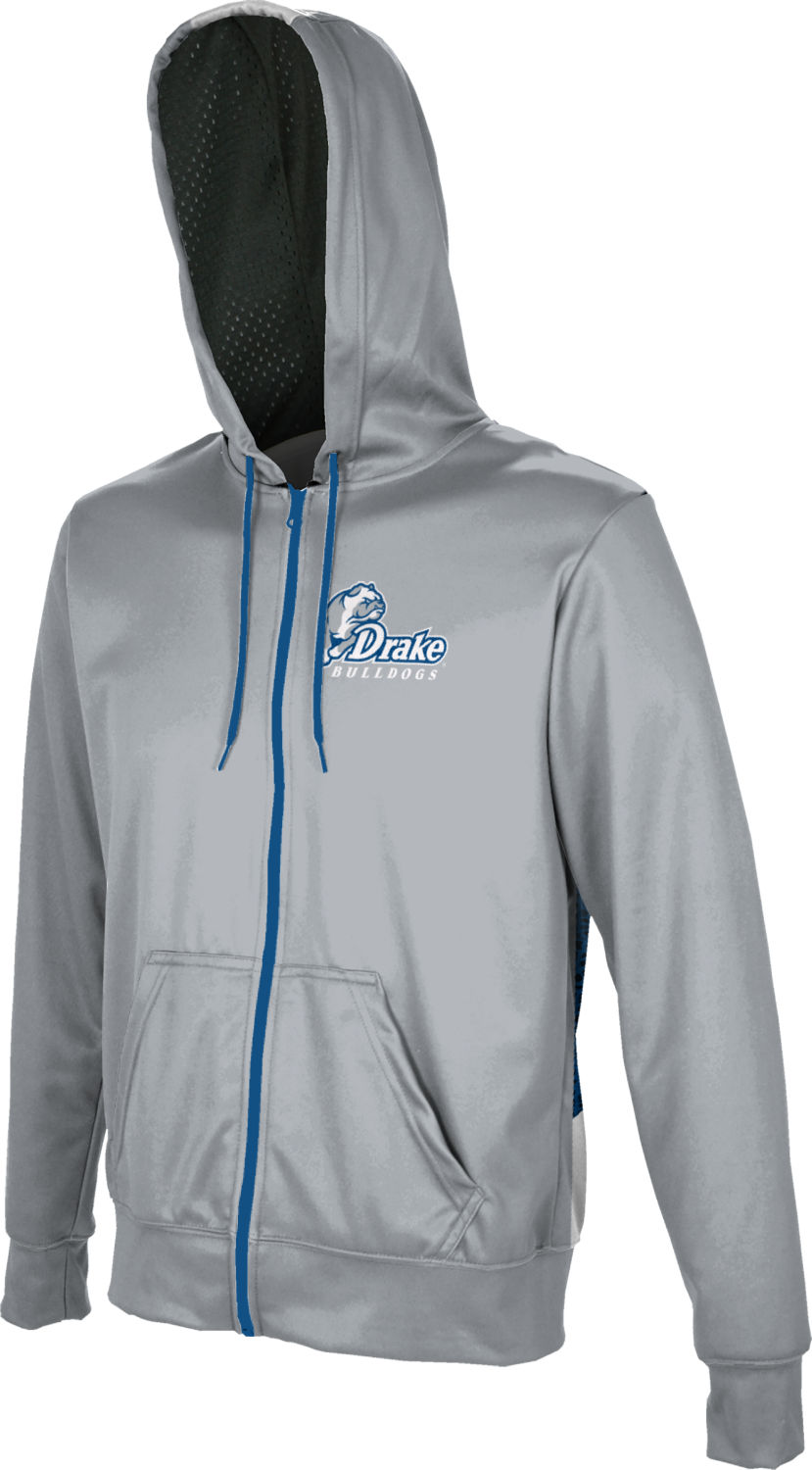 ProSphere Drake University Mens Full Zip Hoodie Zoom