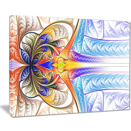East Urban Home Strange Fractal Desktop Wallpaper Graphic Art Print On Canvas
