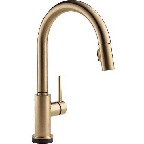 Delta Trinsic Touch Activated Kitchen Faucet with Pull-Do...