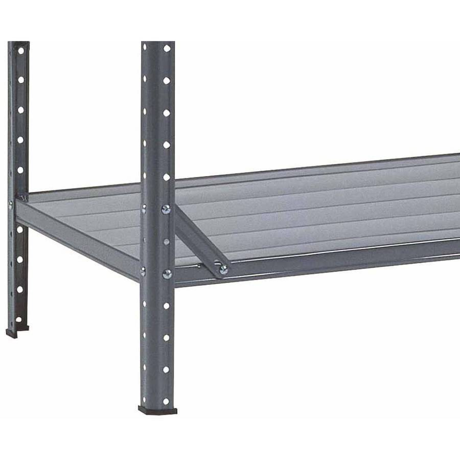 Edsal 5 shelf heavy duty steel shelving - Muscle Rack 30w X 12 D X 60 H 7 Shelf Steel Shelving Grey Walmart Com