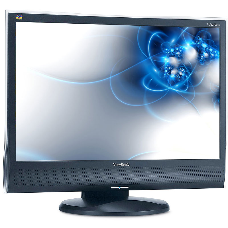 "ViewSonic VG2230WM 22"" Black Widescreen LCD Monitor"