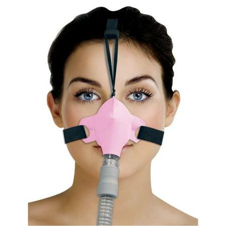Circadiance SleepWeaver ADVANCE Nasal Masks with Headgear - Pink - Whistling Balloons