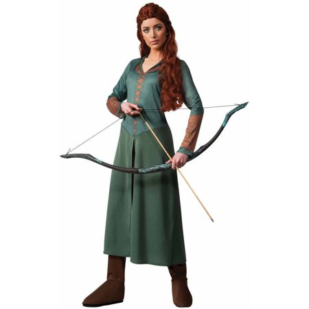 The Hobbit 2: Desolation of Smaug Tauriel Elf Men's Adult Halloween Costume](Wood Elf Halloween Costumes)