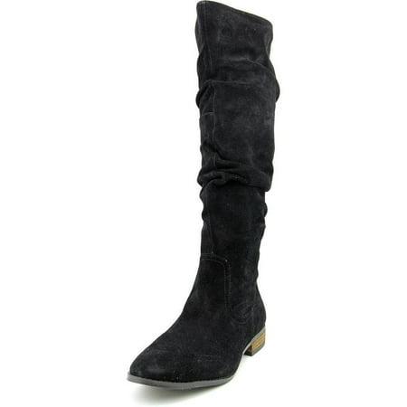 74912cd7198 Steve Madden - Steve Madden Women s Tangy Black Regular Suede Boots -  Walmart.com