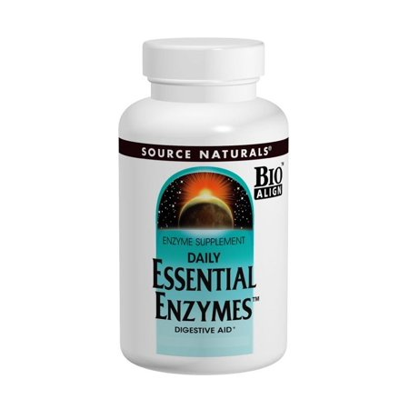 Essential Enzymes Source Naturals, Inc. 60 vcaps