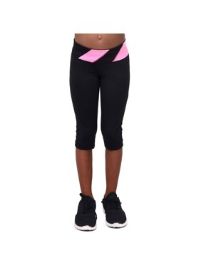 Girls Active Capri Sport Tight with Diagonal Waistband