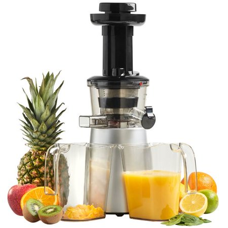 Vonshef 150w Slow Juicer Masticating Juicer : vonShef Digital Slow Masticating Juicer - Walmart.com