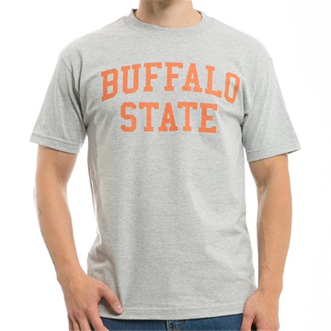 W Republic Game Day Tee Buffalo State College, Heather Grey - Large - image 1 de 1