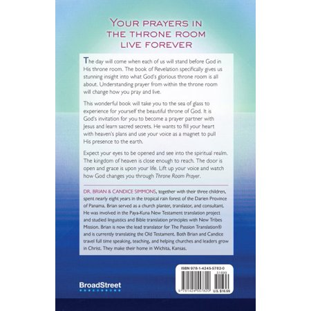 Throne Room Prayer : Praying with Jesus on the Sea of