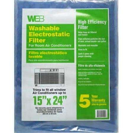WEB KHBWRAC WEB Electrostatic Filter for Room Air