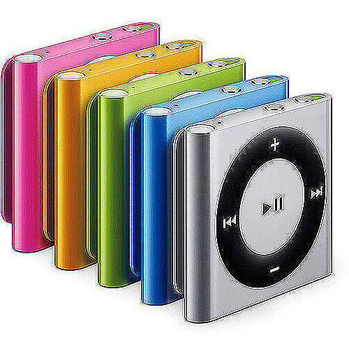Apple iPod Shuffle 6th Generation 2GB Assorted Colors Refurbished