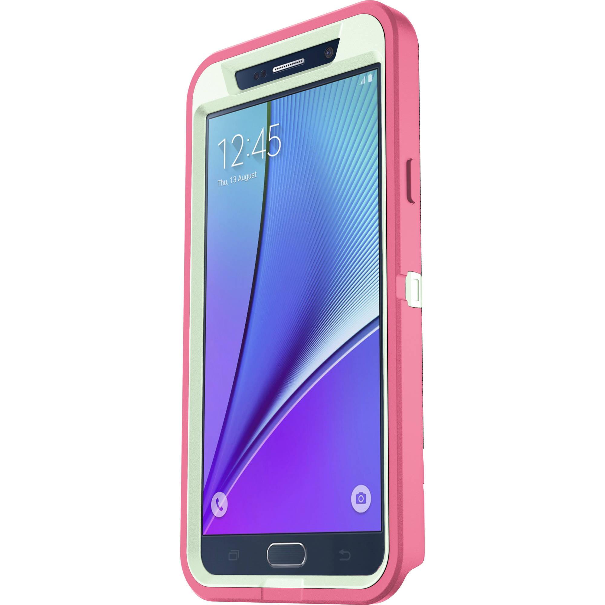 competitive price 19e9f d2020 OtterBox Defender Case for Samsung Galaxy Note5, Melon Pop
