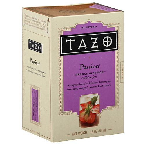 Tazo Passion Herbal Infusion Tea, 20ct (Pack of 6)