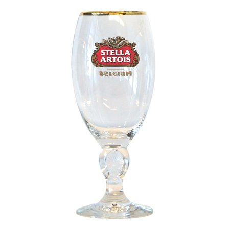 Stella Artois Chalice Glass (Clear Small Goblet)