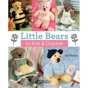 Search Press Books Little Bears To Knit