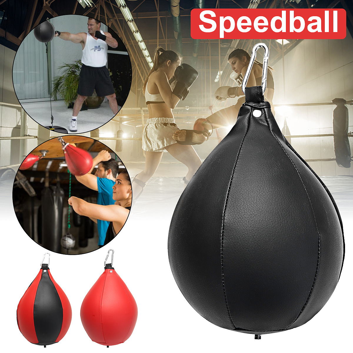 Pear Shape Speed Dodge Ball MMA Boxing Punch Bag Punching Training Speedball UFC