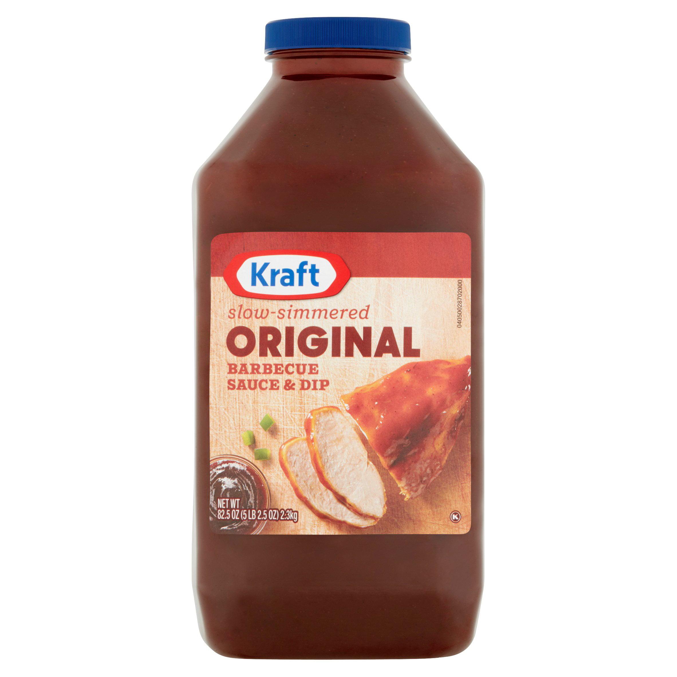 Kraft Original Barbecue Sauce and Dip, 82.5 oz