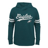 Product Image Girls Youth Midnight Green Philadelphia Eagles French Terry Pullover  Hoodie f0003e237