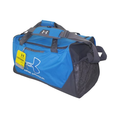 Under Armour Duffel Bag - Gray/Blue/White (Under Armour Basketball Bag)