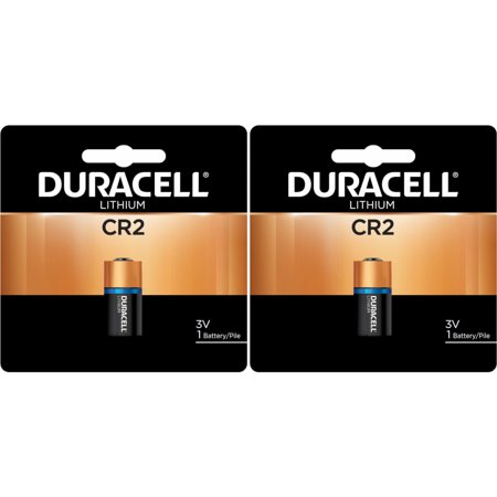 2 Pack Duracell DLCR2 Ultra High Power Lithium Battery 1 Count Each - Lithium Power Pack