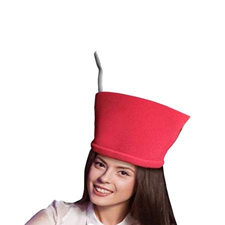 Halloween Martini Corner (Martini Adult Foam Costume Hat - One)